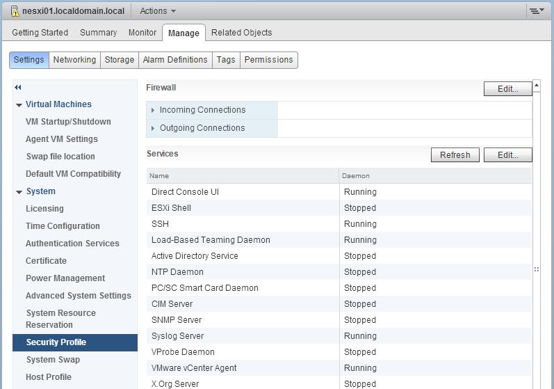 Objective 1 2: Secure ESXi, vCenter Server, and vSphere